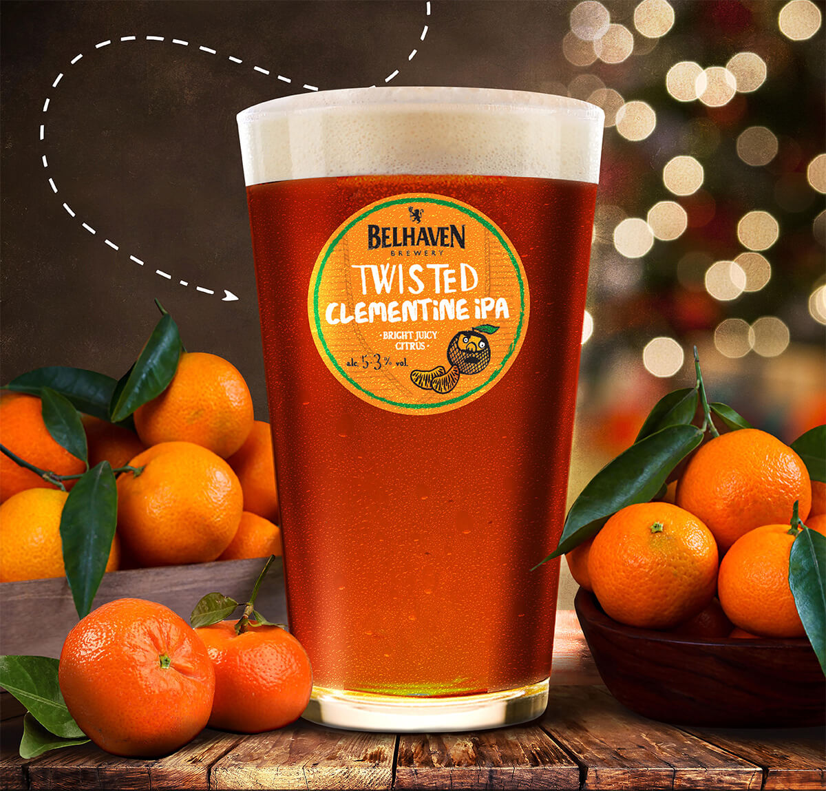 Belhaven Brewery — Twisted Clementine IPA