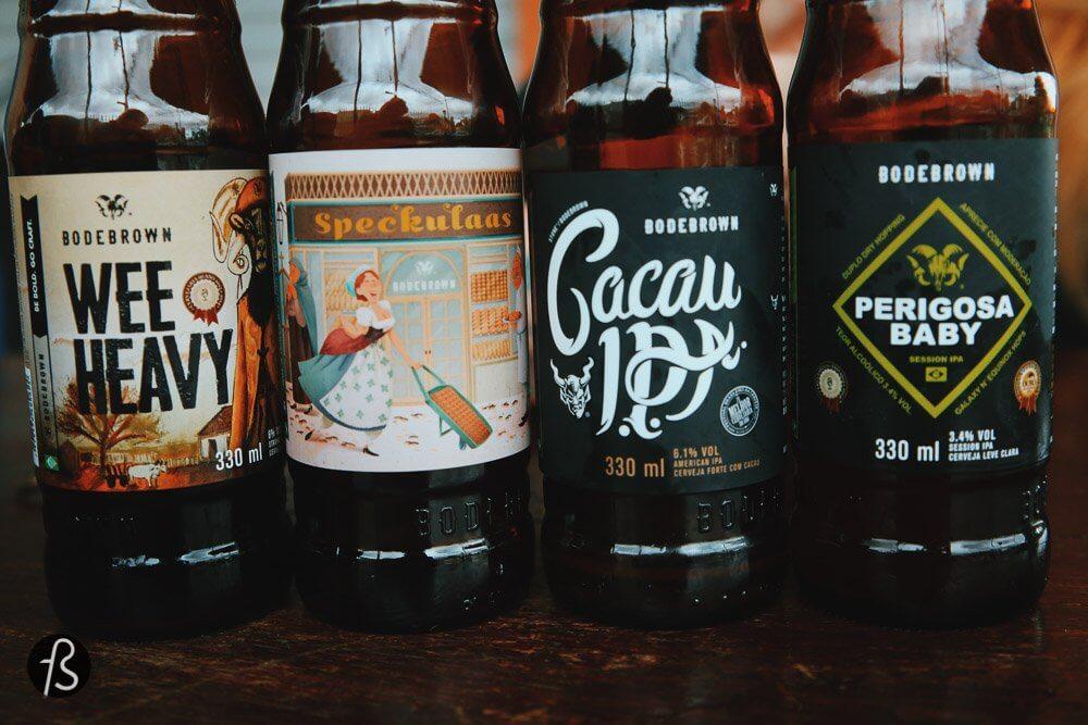 Бразильское крафтовое пиво