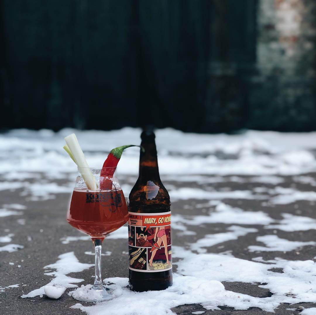 Konix Brewery — Mary, Go Home!