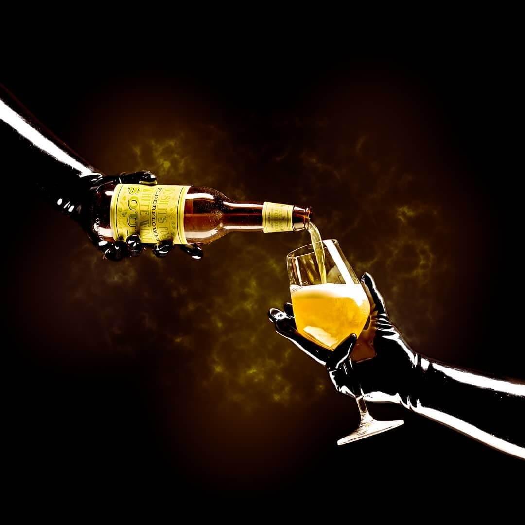The Flying Dutchman — Gosh It's Posh Elderflower White Wine Sour