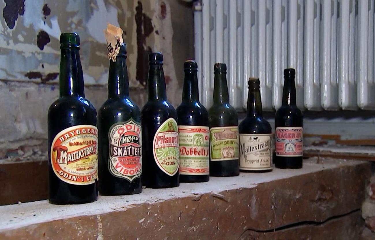В Дании нашли тайник с пивом начала XX века