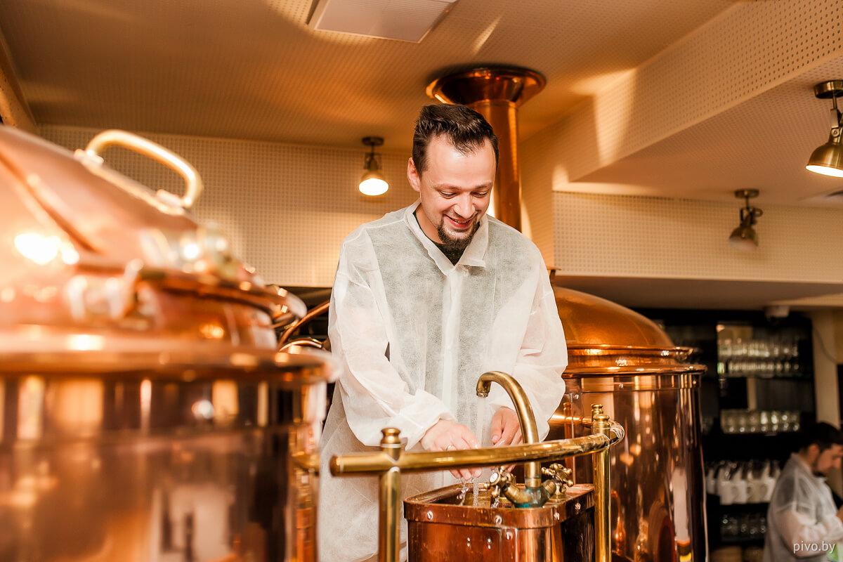 Совместная варка пивоварни Друзья и домашнего пивовара Константина Ларионова