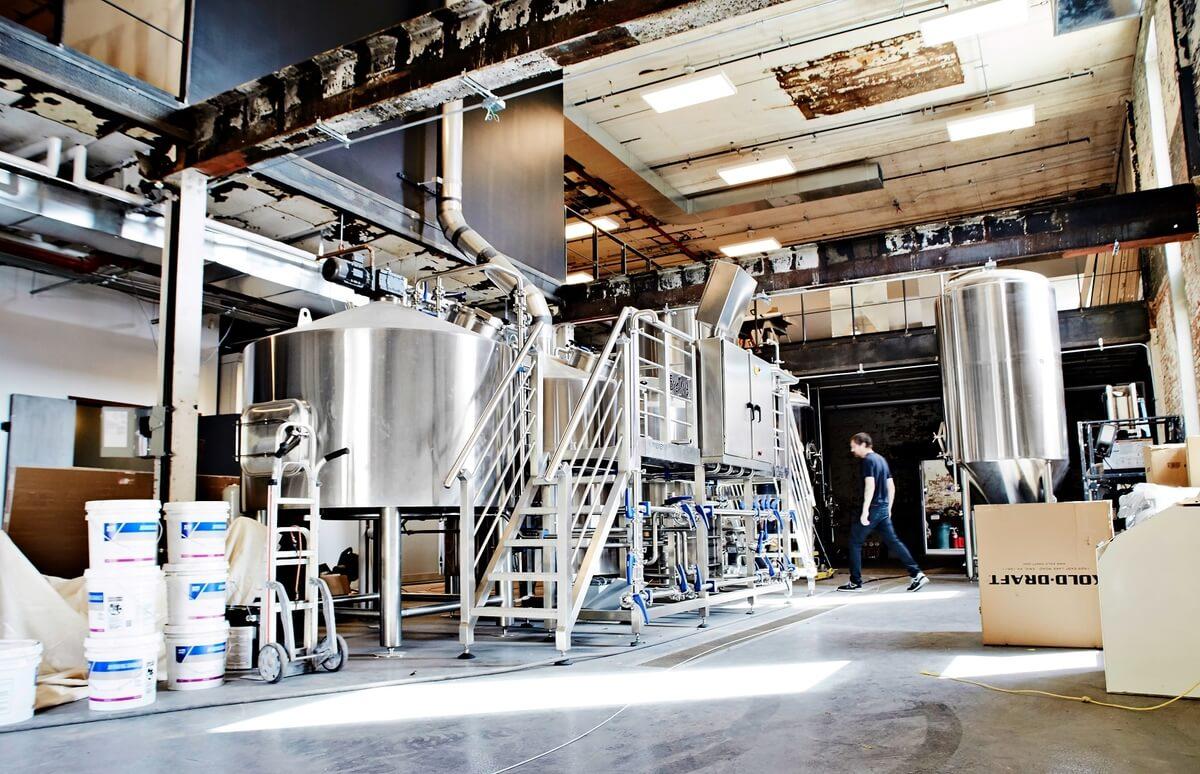 Будущая пивоварня Evil Twin