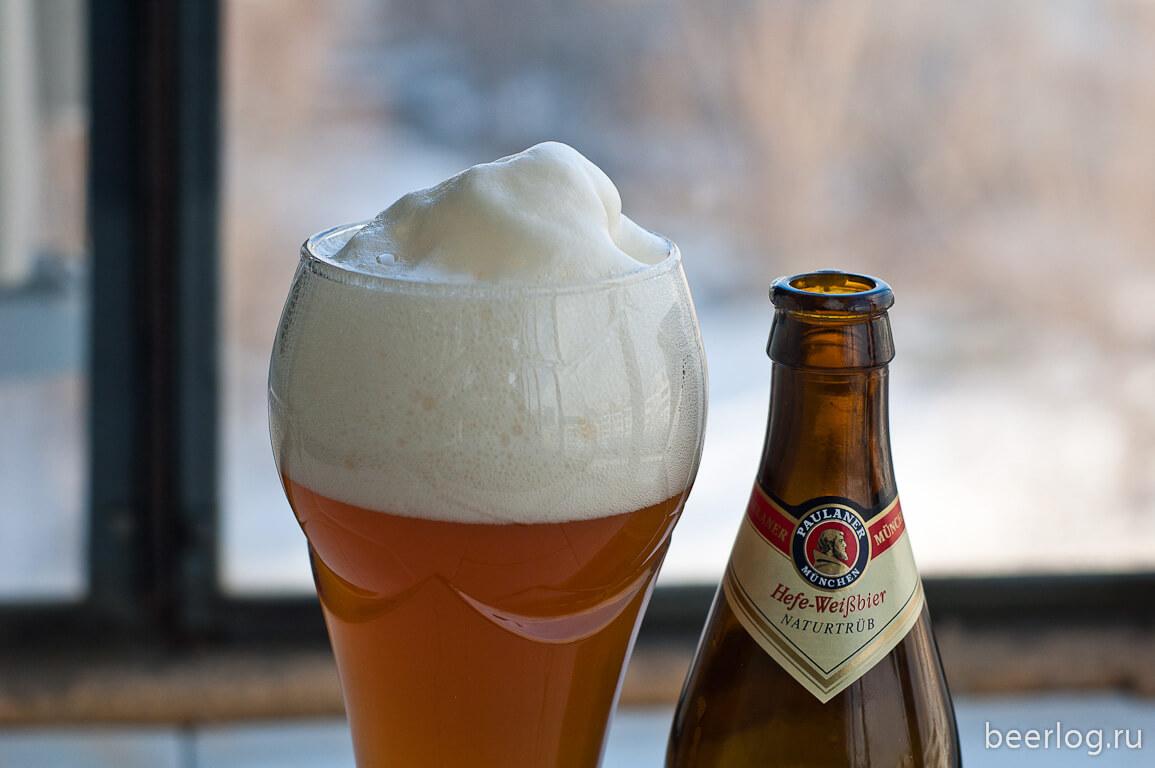 Paulaner Brauerei — Paulaner Hefe-Weißbier Naturtrüb