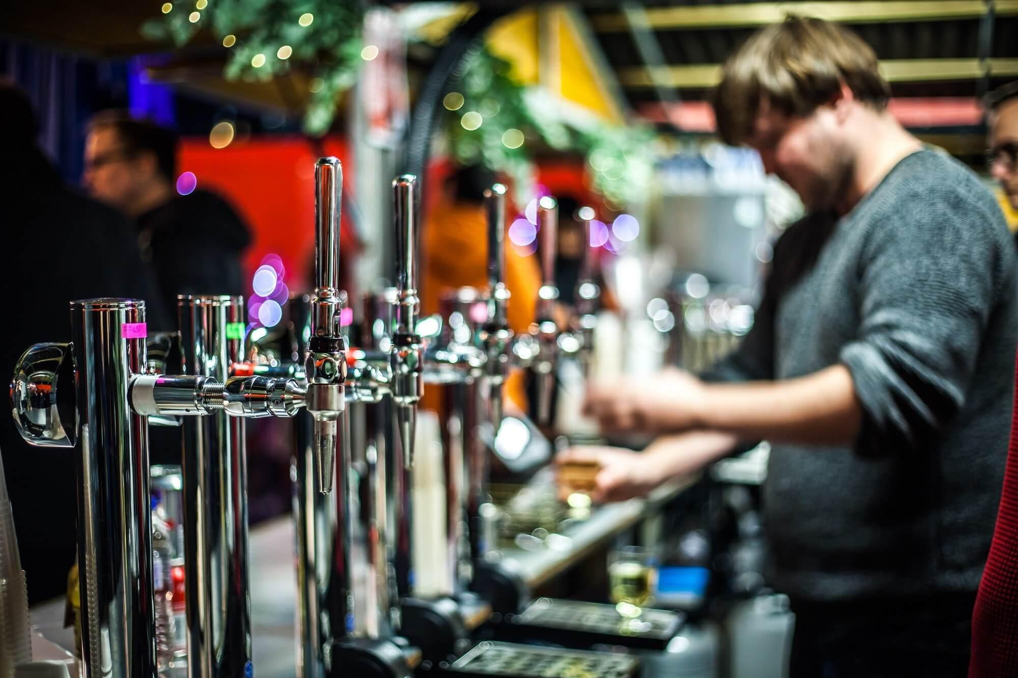 Краны в баре