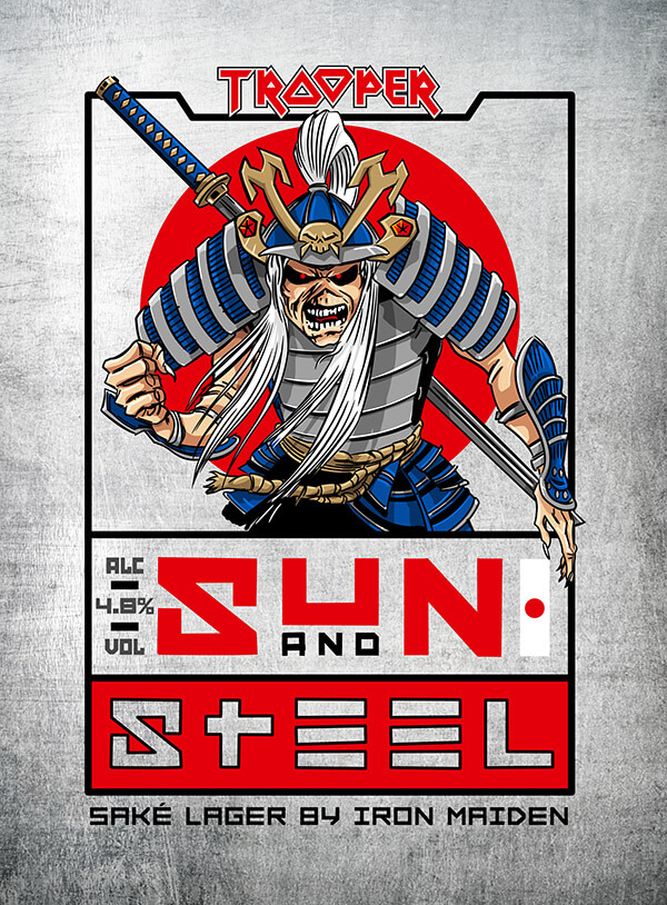 Iron Maiden / Robinsons — Sun and Steel