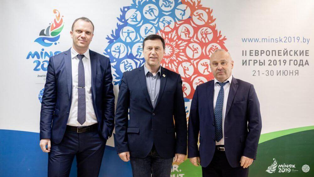 Криница — партнёр Европейских игр