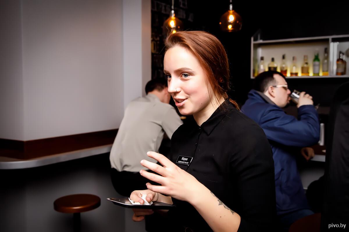 Фуд-пейринг в баре «Чапскі»