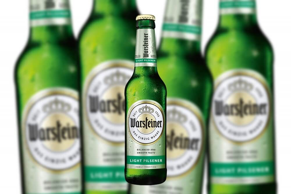 Warsteiner Light Pilsener