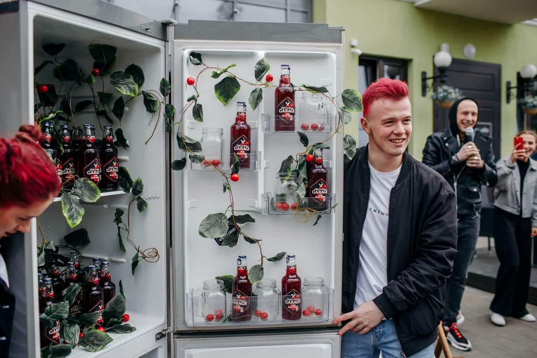 Garage Hard Black Cherry Drink