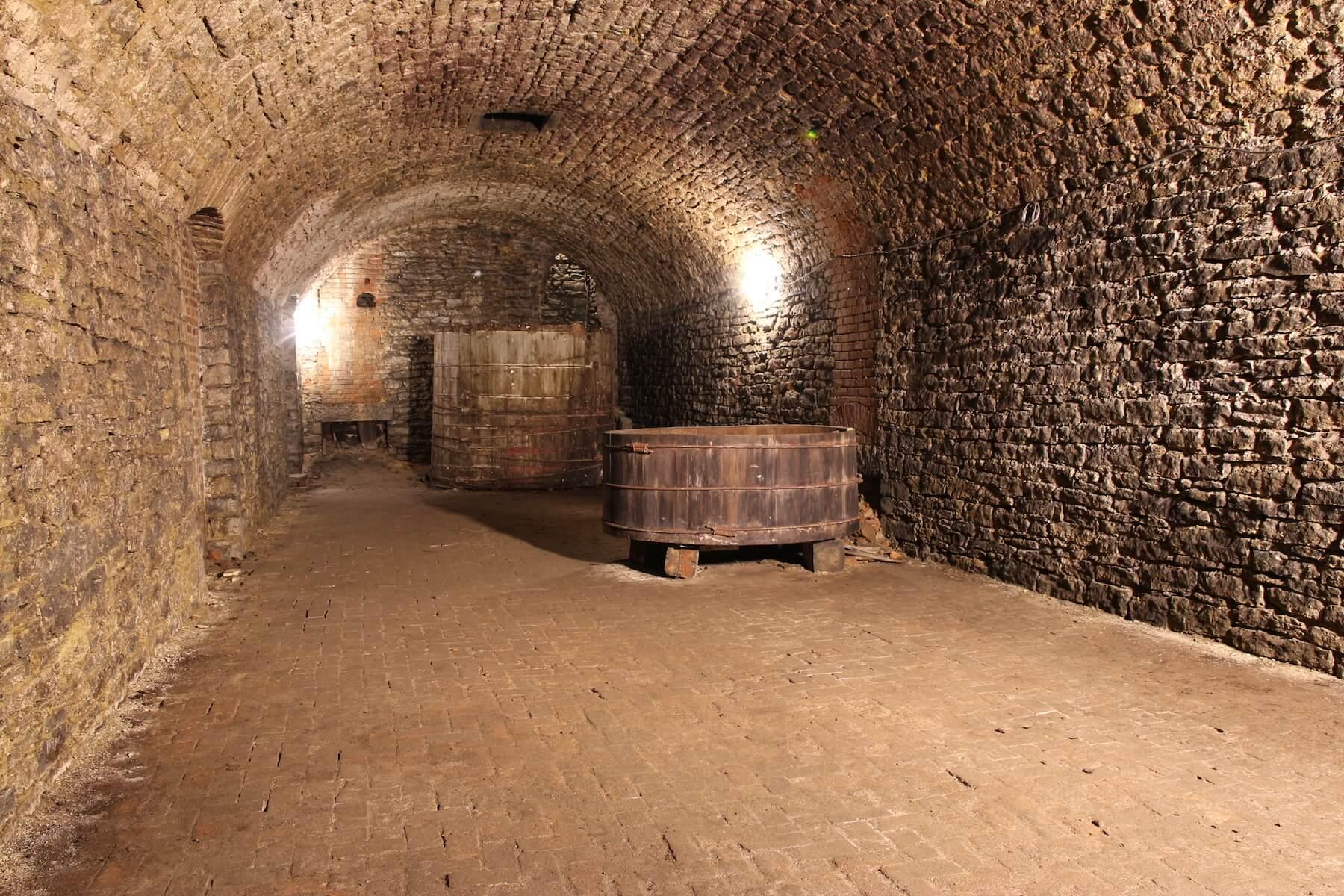 Подземный пивной склад