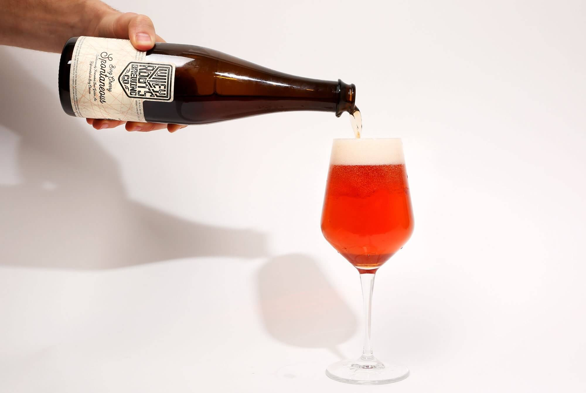 Wiley Roots Brewing Co. × Our Mutual Friend — Bing Cherry Spontaneous