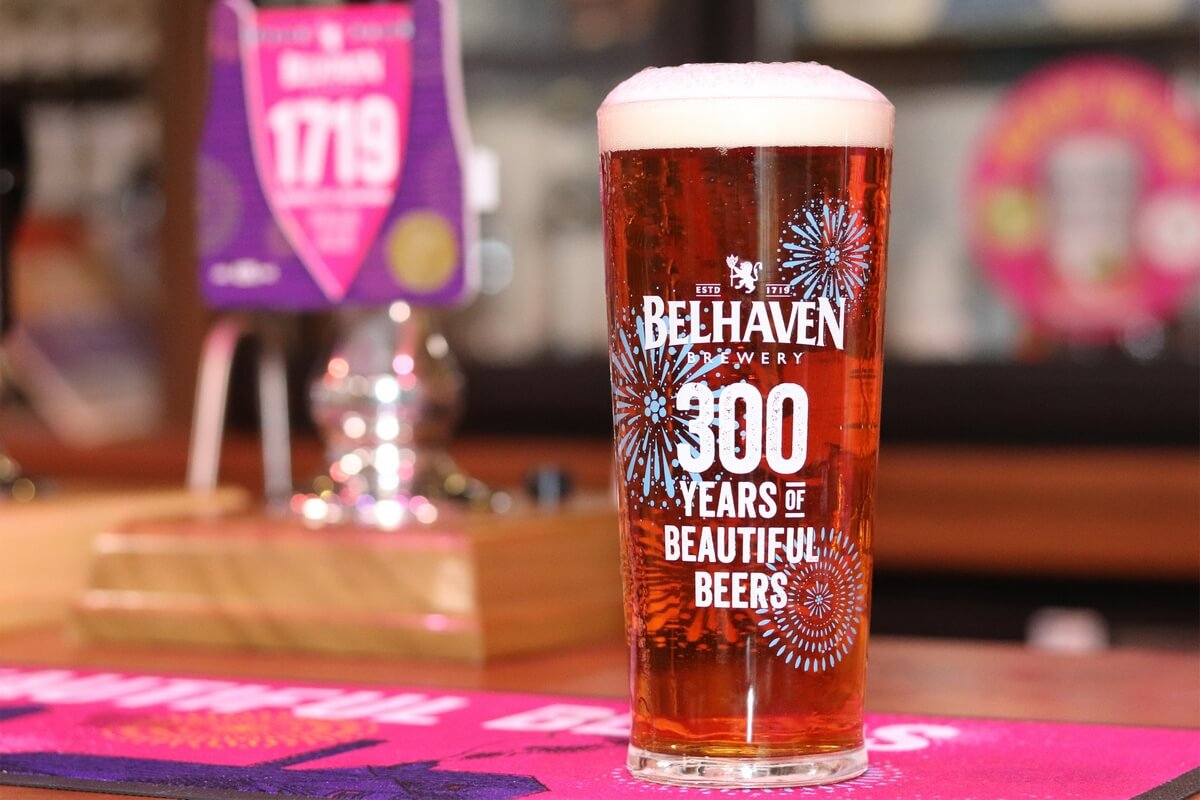 300-летие пивоварни Belhaven