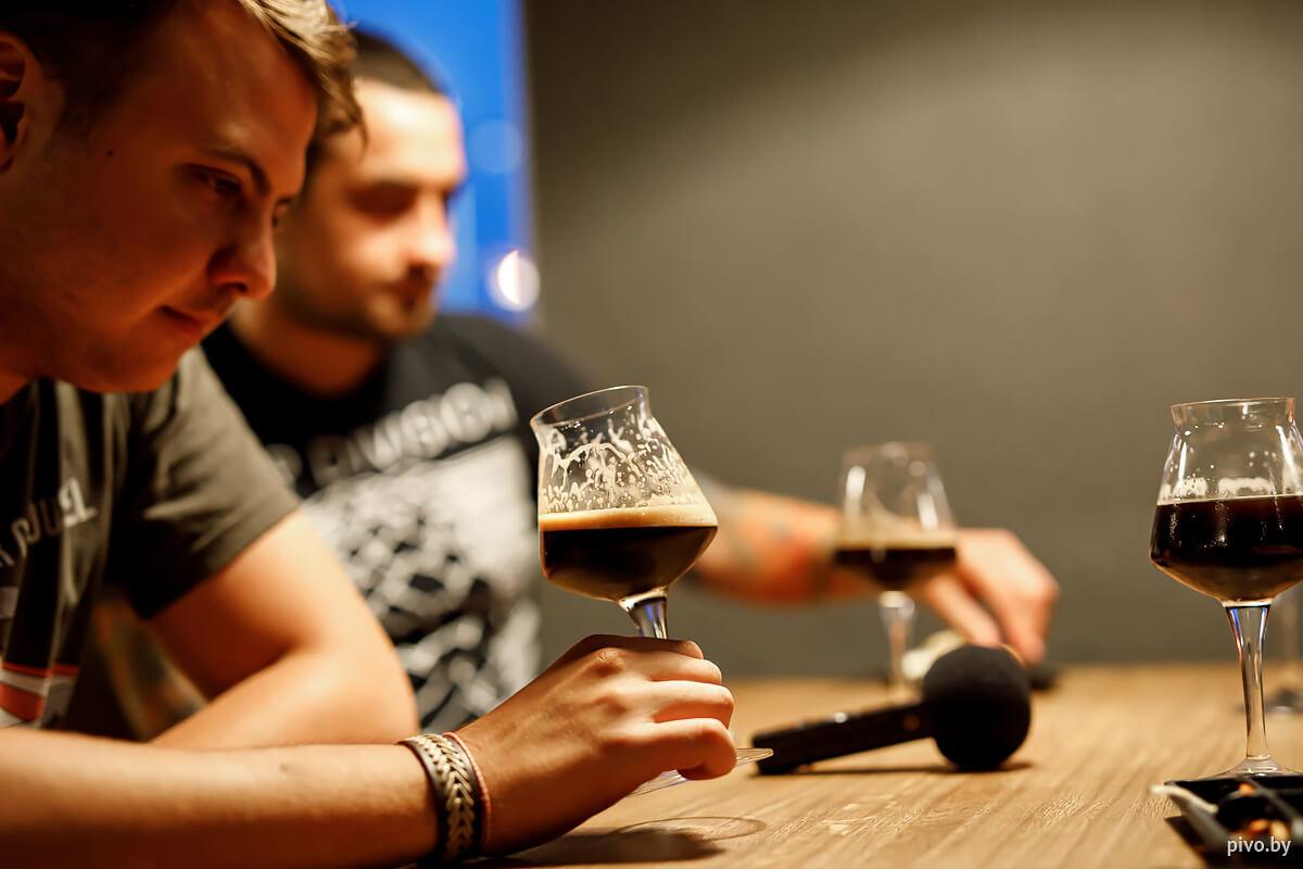 Дегустация пива из Санкт-Петербурга
