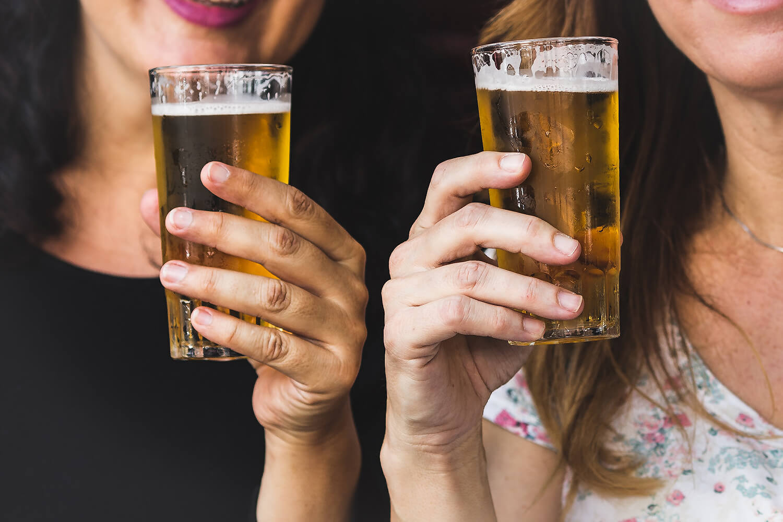 Пиво и девушки