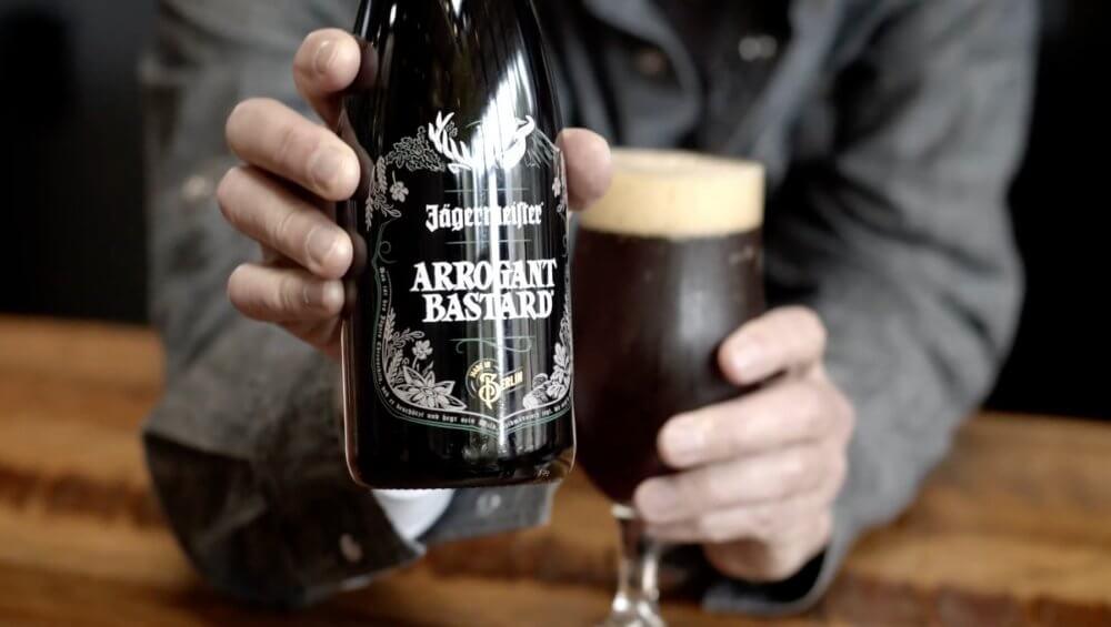 Stone Brewing — Jägermeister Arrogant Bastard Ale